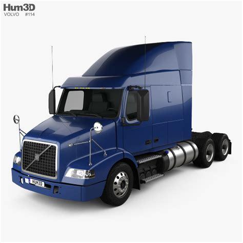 volvo truck model volvo vnm 430 tractor truck 2012 3d model hum3d