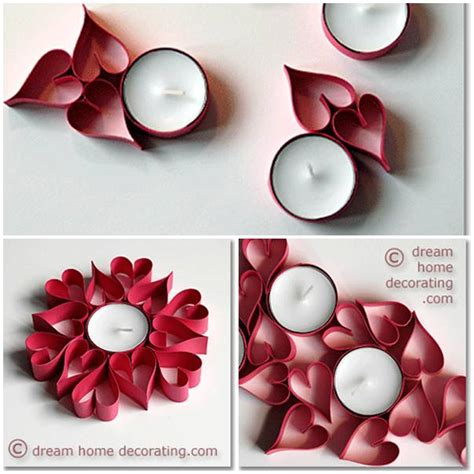 how to make home decorations diy paper heart table decorations usefuldiy com