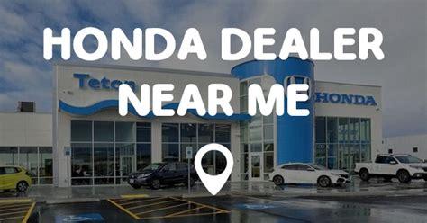 honda dealer   points