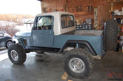 1981 Jeep Scrambler 1981 Jeep Cj8 Scrambler 4x4 Project