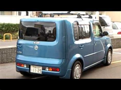 nissan square car nissan cube 日産 キューブ z11 at l a auto show car and driver