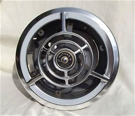 nutone kitchen ceiling exhaust fans vintage 1950s nutone 8210 ceiling wall chrome kiitchen