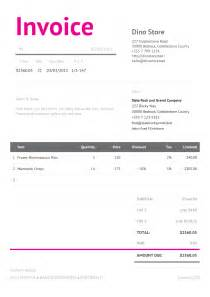 corporate invoice template bella