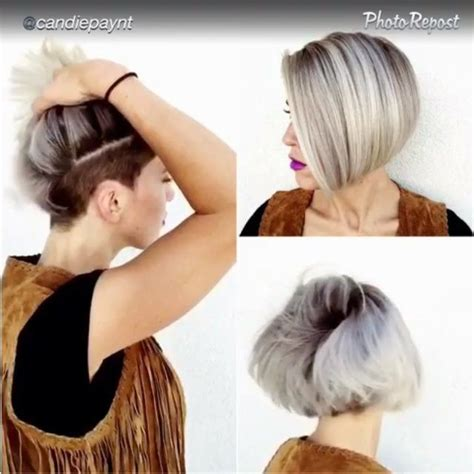 Pic Of Back Of Shaved Aline Ahaircuts | hidden ish undercut i am not my hair pinterest