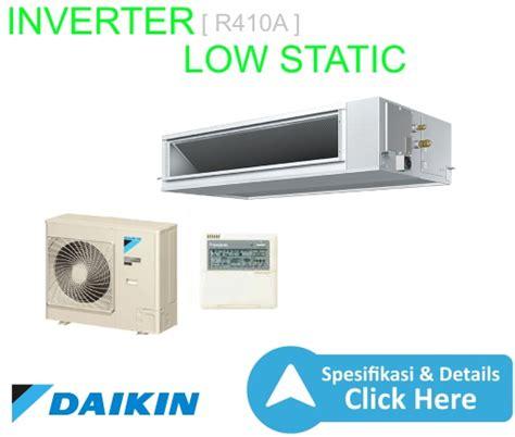 Ac Daikin Inverter Low Watt ac split ducted inverter r410a low static 2 1 2pk wr