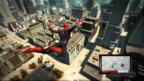 swinging man game swinging into action the amazing spider man gameplay