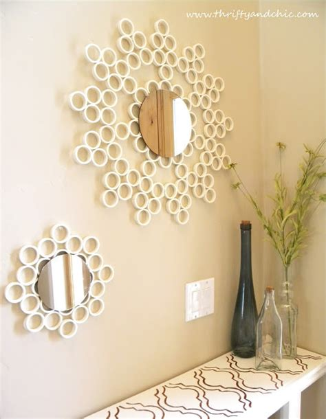 making of home decorative items 17 diy home decor with every day items fringe pvc tip