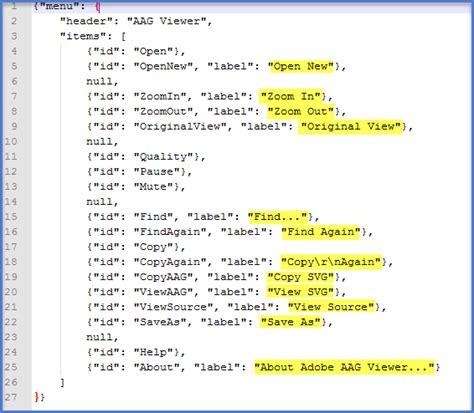 format file json localizing json files