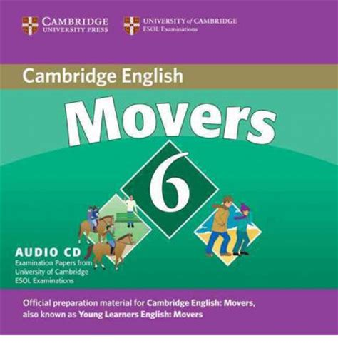 rass language cambridge english movers 2 cd 1 cd rom 兒童圖書 cambridge young learners english tests 6 movers audio cd no 6 cambridge esol 9780521739382