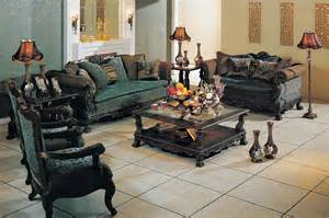 Turquoise Living Room Set Turquoise Living Room Set Formal Floral Sofa With Rolled Arms And Wood Trim 8801