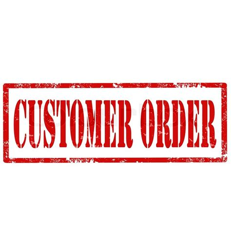 made to order rubber sts grunge rubber st with text customer order vector