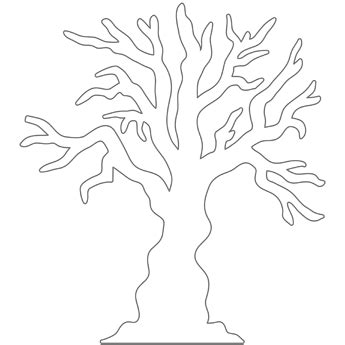 spooky tree coloring page spooky tree free n fun halloween from oriental trading