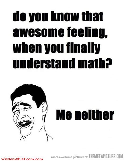 Meme Quotes About Life - math quotes math funny meme comics quote picture cute