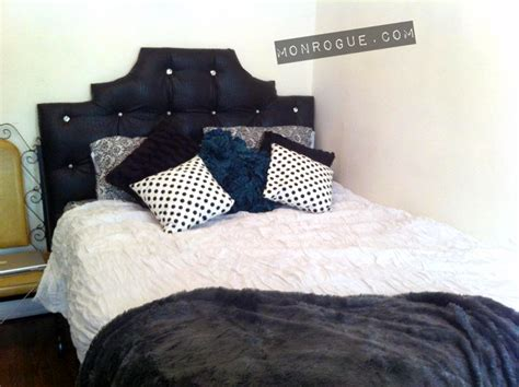 how do i make a headboard how to make a diy tufted headboard monrogue