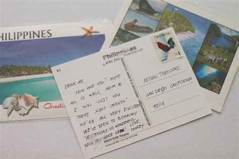 A Postcard From by How To Write A Postcard With Sle Postcards Wikihow