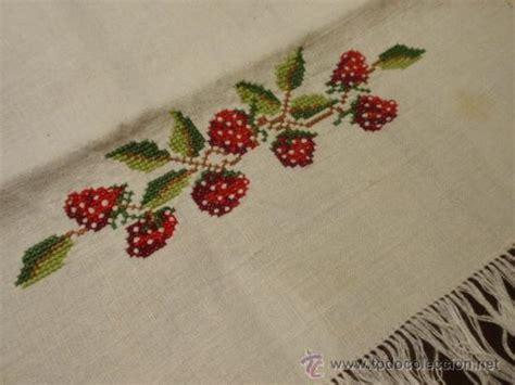 imagenes de flores individuales manteles individuales con servilletas bordado comprar