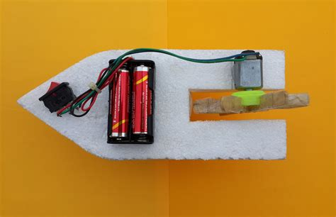 how to make motor boat how to make a simple boat with dc motor at home