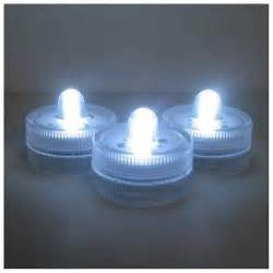 small battery lights 36 led submersible waterproof wedding floral decoration