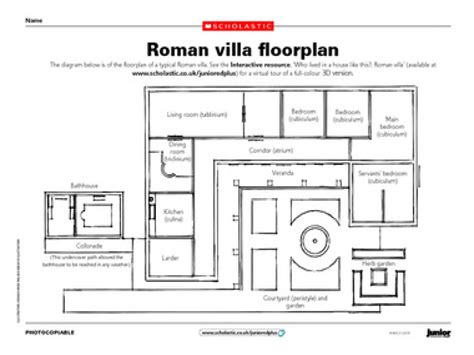 roman floor plan roman villa floor plan ancient roman villa floor plan