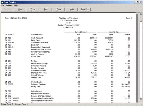 trial balance template the gallery for gt trial balance template