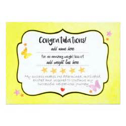Weight Loss Certificate Template by Weight Loss Invitations Announcements Zazzle