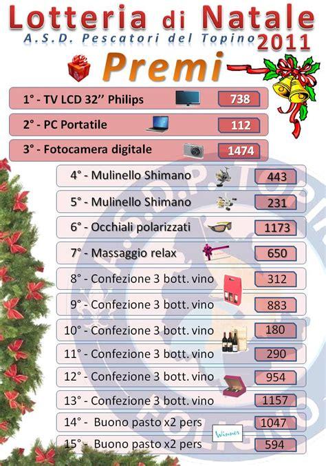 premi consolazione lotteria italia 2014 premi di consolazione lotteria italia 2015
