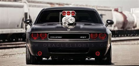Dodge Challenger Oracle Halo Headlights Kit 2008 2013