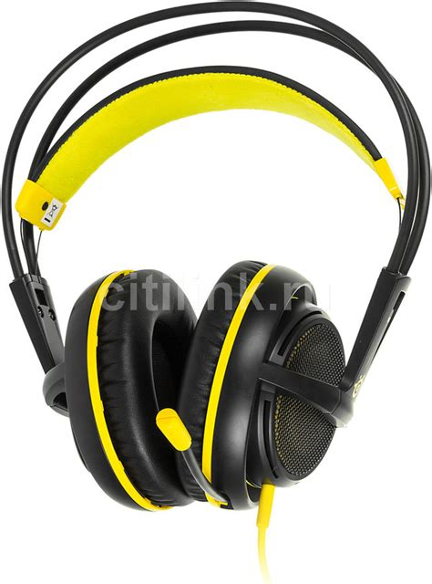 Steelseries Siberia 200 Proton Yellow Gaming Headset steelseries siberia 200 proton yellow 4990