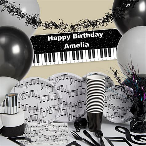 music themed birthday decorations musical party supplies music party