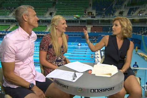 helen skelton rio olympics 2016 host wardrobe malfunction what s all the fuss about helen skelton s skirt during