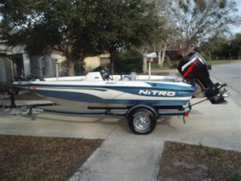 used boats for sale in titusville fl 2004 tracker nitro 640 lx fishing boat for sale in
