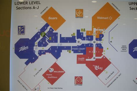 map square  shopping centre
