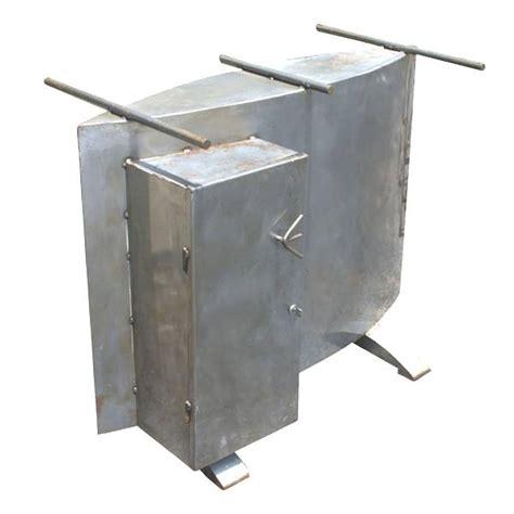Glass Top Metal Desk by 4ft Sculptural Postmodern Metal Glass Table Desk Ebay