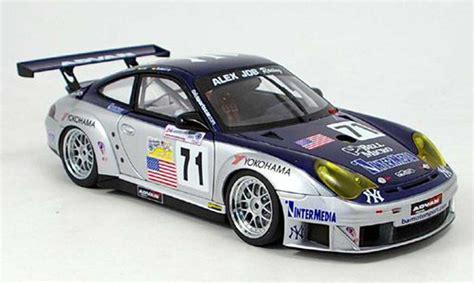 Die Cast Apolo 136 Porche 911 Gt3 Rsr Blue porsche 996 gt3 rsr no 71 alms 2005 autoart diecast model car 1 18 buy sell diecast car on