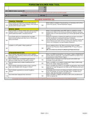 army slrrt fill online printable fillable blank pdffiller
