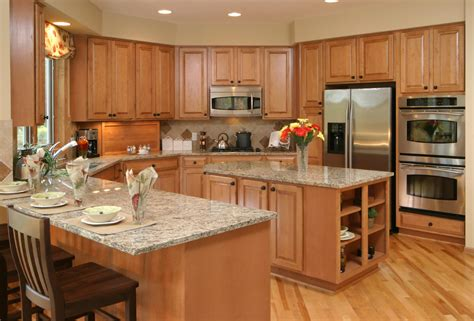 u shaped kitchen layouts with island solidly u shaped kitchen here awash in warm natural wood