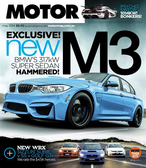 motor magazine australia  bmw motor sedan