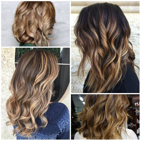 hairstyles 2017 highlights 2017 caramel highlights for brown hair best hair color