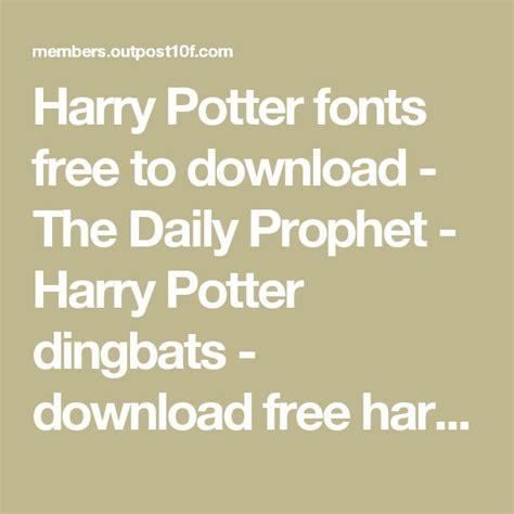 harry potter fonts 1000 ideas about harry potter font on pinterest harry