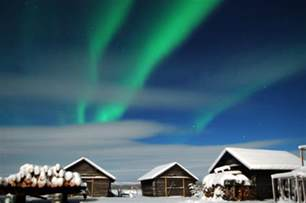 northern lights sweden arctic circle juoksengi