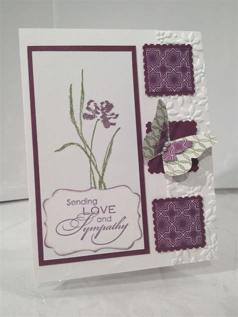 Handmade Card Ideas Stin Up - sympathy card ideas 28 images 25 best ideas about