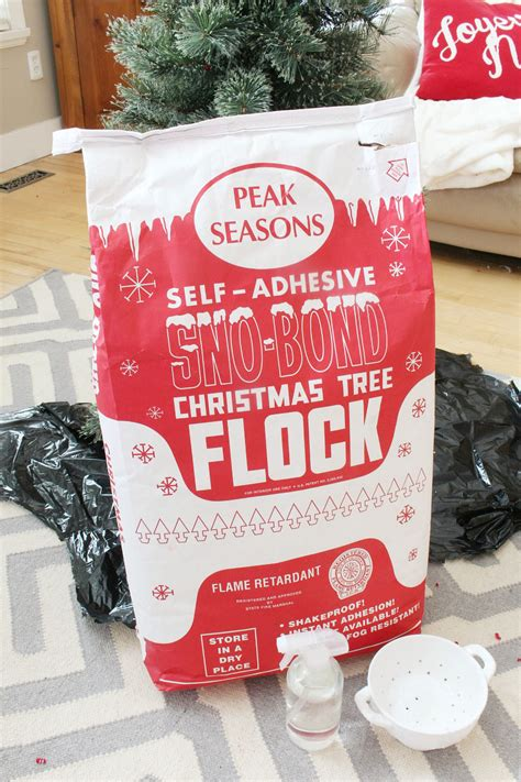 best 28 sno bond christmas tree flock flocking add