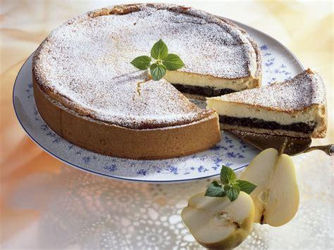 kuchen mit birnen k 228 se mohn kuchen mit birnen rezept eat smarter