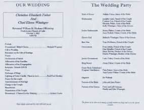 wedding church program template best photos of wedding church programs exles church wedding program templates church