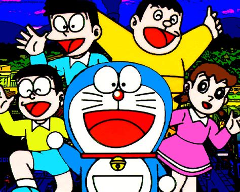 wallpaper of doraemon and nobita wallpaper for pc desktop and handphone