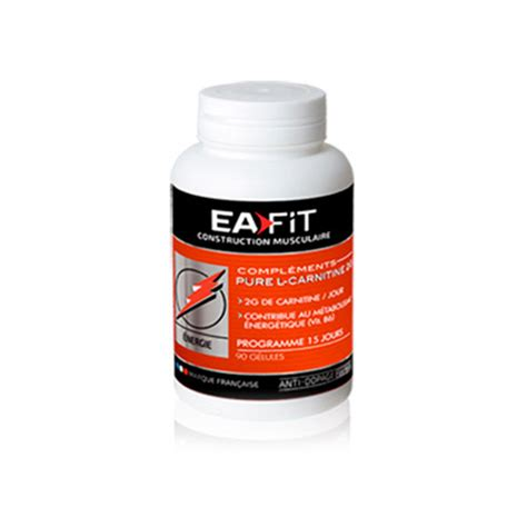 Ea Fitness by Ea Fit L Carnitine 2g S 232 Che D 233 Finition