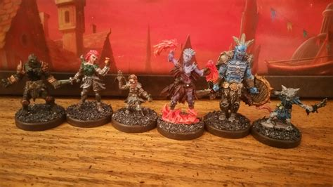 professional painting workshop miniatures painted miniatures the starting classes gloomhaven