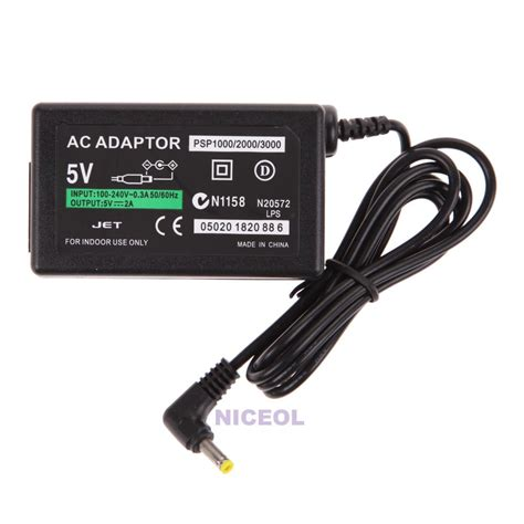 Adaptor Charger Psp 1000 2000 3000 home wall charger ac adapter power supply cord cable for sony psp 1000 2000 3000 ebay