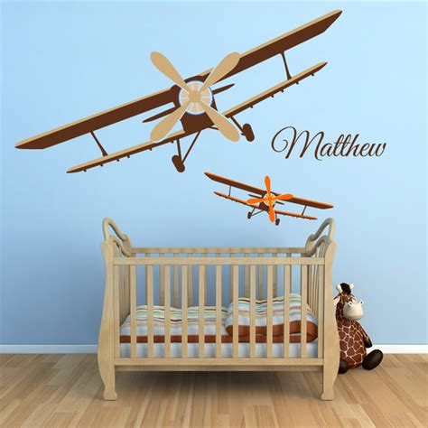 planes wall stickers planes wall decal by artollo