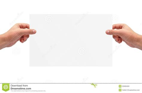 How To Make Paper Holding - holding paper royalty free stock images image